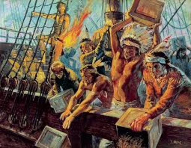 Economy of the Boston Tea Party