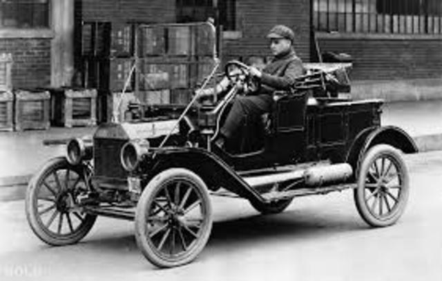 The Invention of the Model T and the Assembly Line