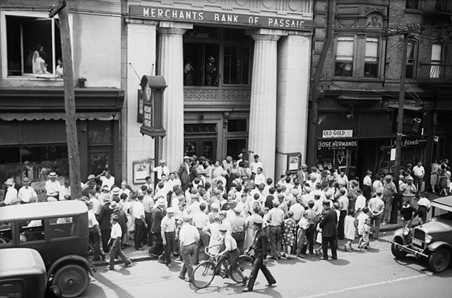 First Stock Market Crash