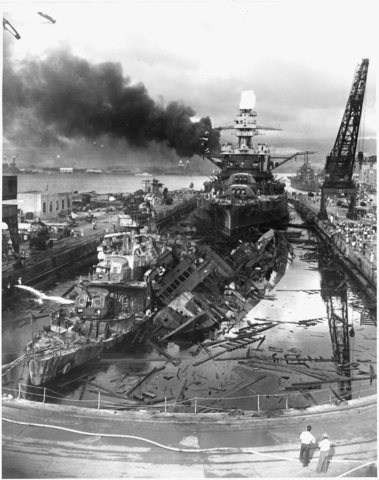 Japanese attack on U.S.
