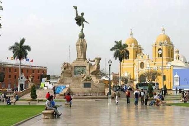 Trujillo rebuild the capital city
