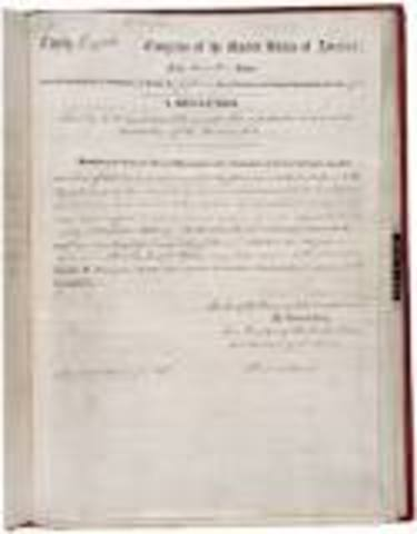 13th Amendment is Passed