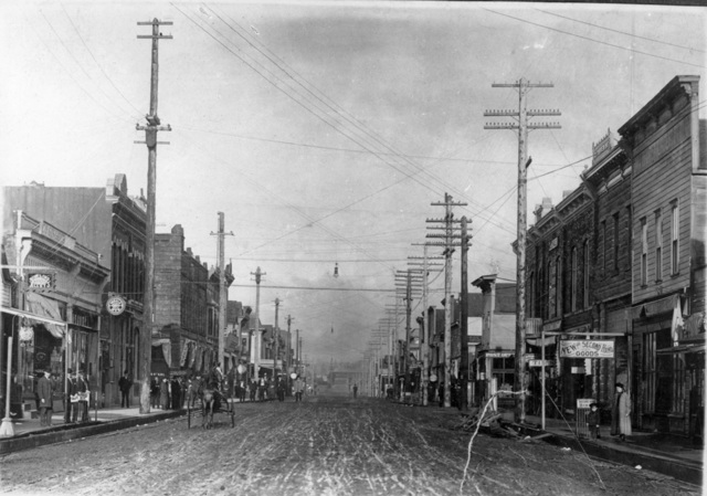 First Telephone Pole