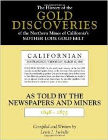 1875 Discovery of Gold
