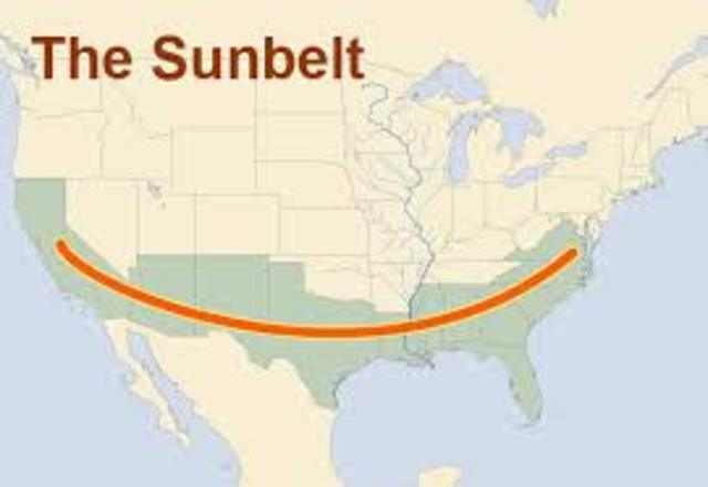 Sunbelt States