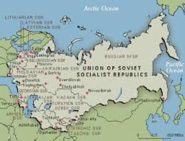 USSR (Union Of Soviet Socialist Republics)