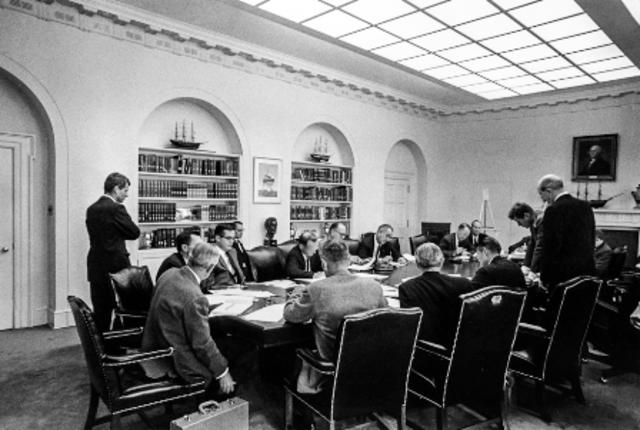 First National Security Council Meeting on Vietnam War