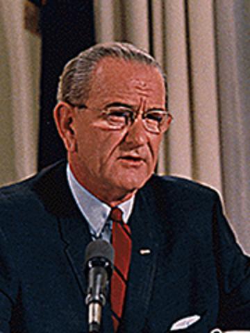 President Johnson Takes Office