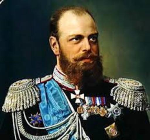 Alexander III succeeded his father, Alexander II