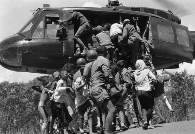 The Evacuation and Fall of Saigon