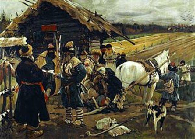 Serfdom in Russia