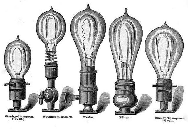 Mass production of the Incandescent light bulbs