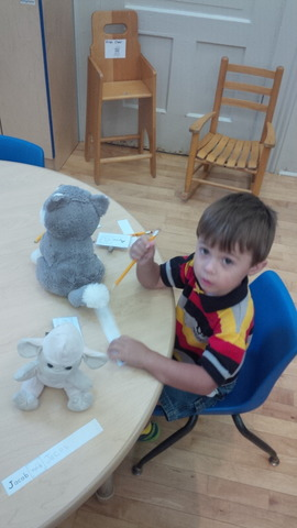 1st day Preschool