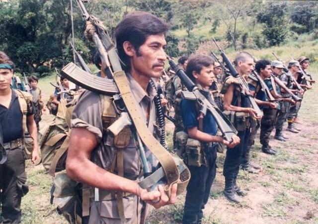 Inicios de La Guerra en El Salvador