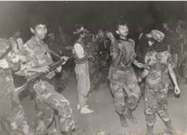 Inicio La Guerra en El Salvador