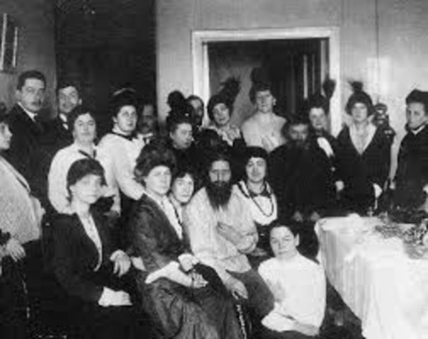 The murder of Rasputin (1869-1916) (1)