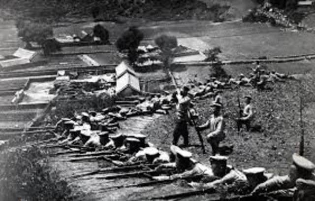 Russo-Japanese War (8 February 1904 – 5 September 1905)