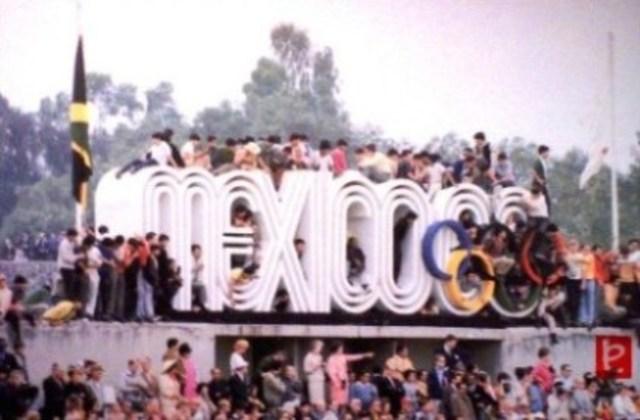 Juegos Olimpicos en México.