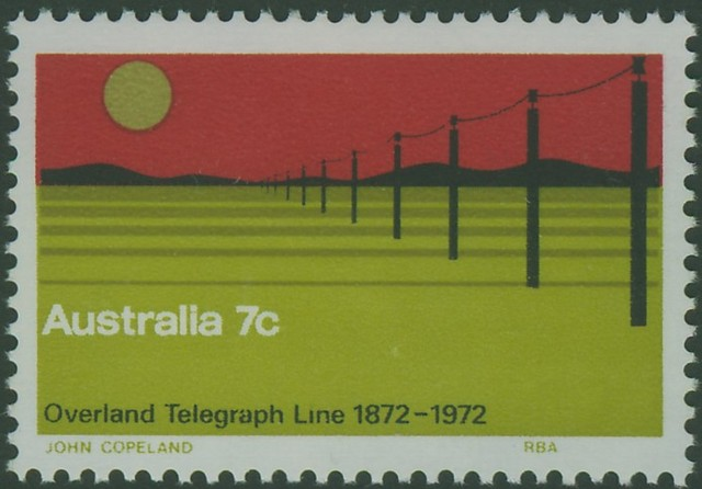 The Overland Telegraph Line is Completed