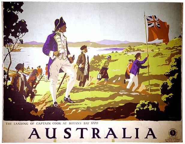 Britian Claims Australia