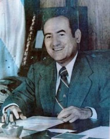 Carlos Humberto Romero, presidente de El  Salvador