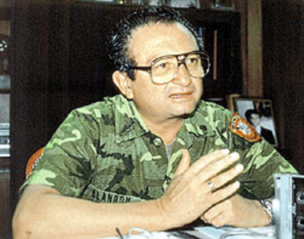 Muere el Coronel Domingo Monterrosa Barrios