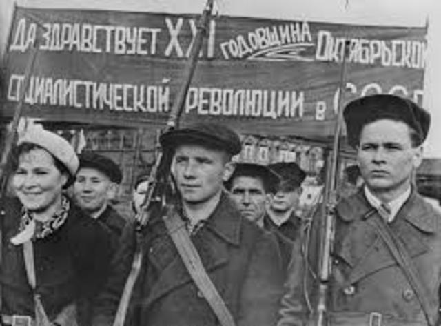 The October Revolution (1) (7-8 of Nov. 1917)