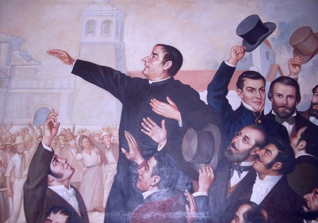 Primer movimiento independentista en San Salvador