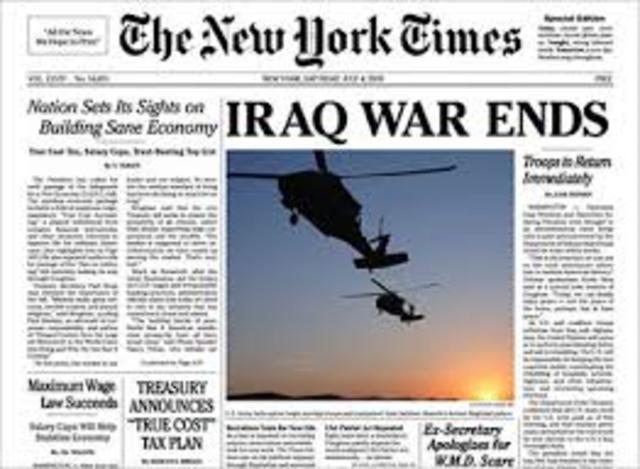 End Of Iraq War