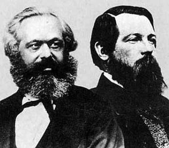 Division of Marxists into two groups