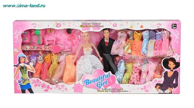 Мне купили в первый раз куклу барби