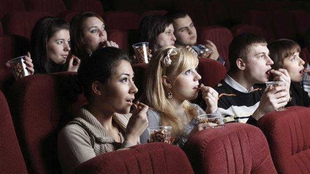Поход с друзьями в кино