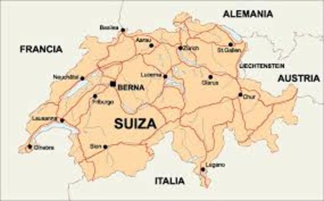 La familia Cortázar se instala en Suiza.