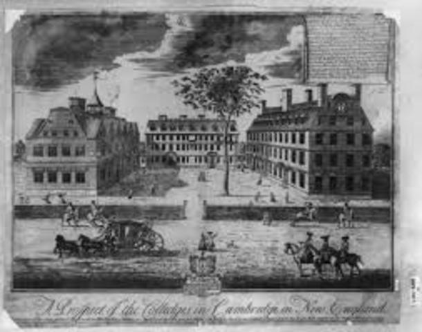 Massachusets Bay Establishment