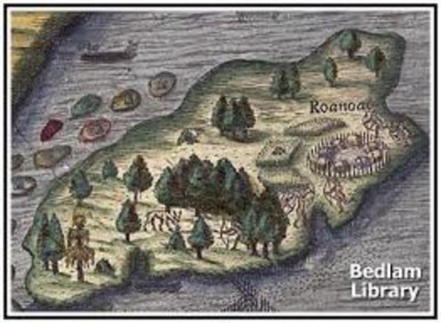 Roanoke Colonization Attempt.