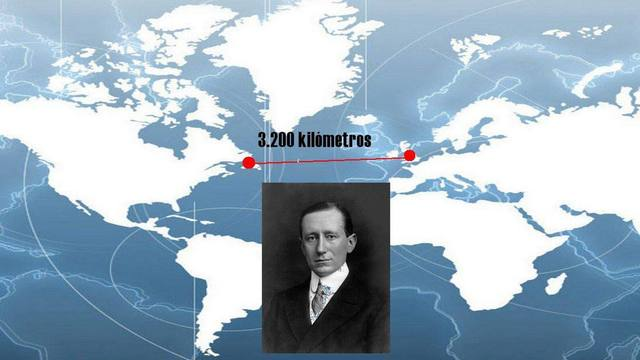 Transmisión Inalámbrica transatlántica de Marconi