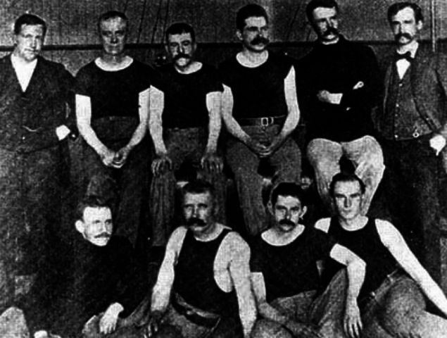 First Volleyball Uniforms