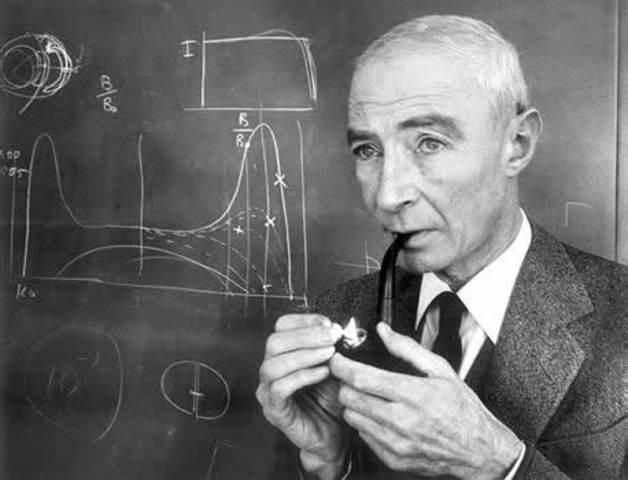 Robert J. Oppenheimer (New York, U.S.)