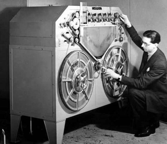 Primera transmisión inalámbrica de Macorni.