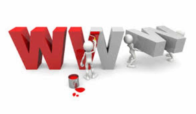 Se crea la World Wide Web (www).