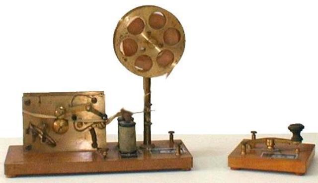 Primera transmisión inalámbrica de Marconi