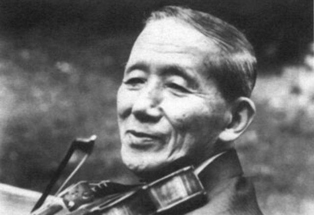Shinichi Suzuki was Born