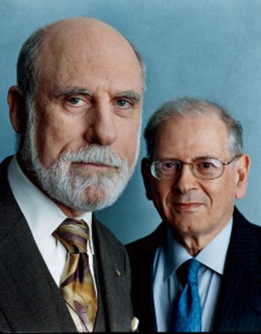 Bob Kahn y Vint Cerf