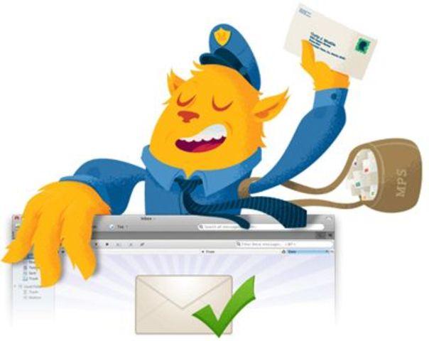 Programa de correo electrónico.