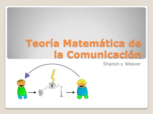 CLAUDE SHANNON PUBLICA TEORIA MATEMATICA DE LA COMUNICACION