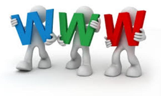 Se ceea la World Wide Wed (WWW). Tim Berners- ee desarrolla el codigo para la WWW.