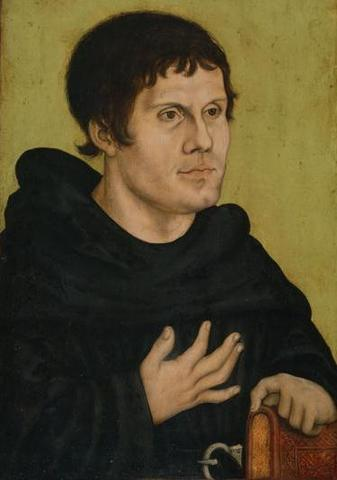 Martin Luther Becomes a Monk