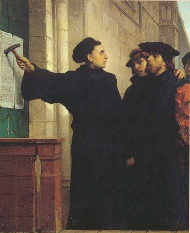 Posting of the 95 Theses