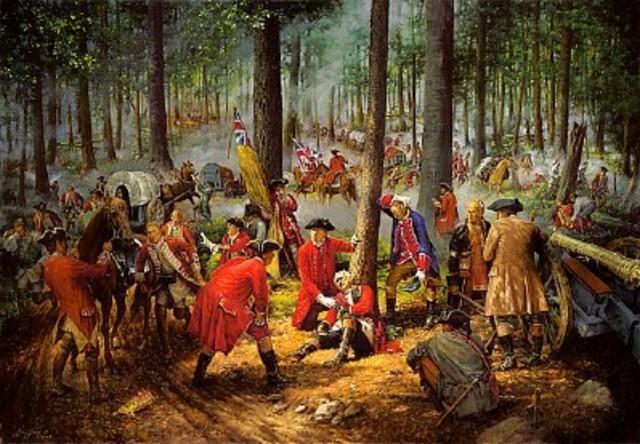 General Braddock Killed