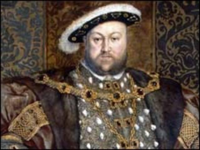 King Henry VIII Establishes Anglican Church